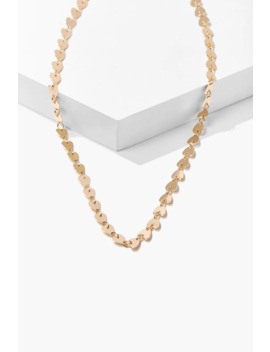 Heart Chain Necklace by Forever 21