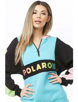 Polaroid Graphic Pullover by Forever 21