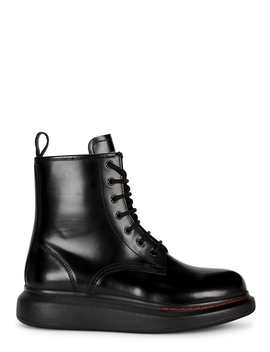 Black Leather Boots by Alexander Mc Queen