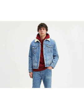 Levi's® Sherpa Trucker With Jacquard™ By Google by Levi's