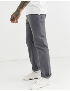 Asos Design Original Fit Jeans In Mid Grey by Asos Design