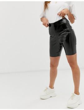 Asos Design Vinyl Legging Short by Asos Design