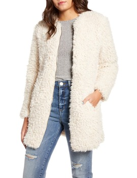 Soft Spot Faux Fur Coat by Bb Dakota