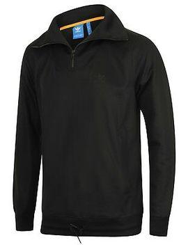 <Span><Span>Adidas Mens Originals Shadow Tones Black Half Zip Tracksuit Top Track Jacket</Span></Span> by Ebay Seller
