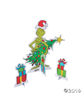 Dr. Seuss™ The Grinch Centerpiece Set by Oriental Trading