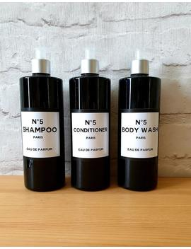 Black Vintage Bathroom Dispenser Bottle 16oz 500ml Reusable Shampoo Conditioner Body Wash Dispenser Bathroom Accessories Custom Personalised by Etsy