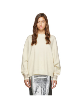 Off White Crystal Cuff Pullover by Alexander Wang