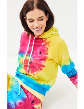 Polo Ralph Lauren Shrunken Fit Tie Dye Hoodie by Pacsun