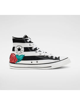 Chuck Taylor All Star Skull Print High Top by Converse