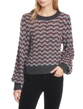 Ruth Bishop Sleeve Sweater by Veronica Beard