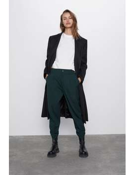 Pleated Ankle Pants by Zara