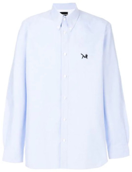 Embroidered Patch Shirt by Calvin Klein 205 W39nyc