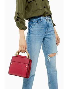 Selma Red Shoulder Bag by Topshop