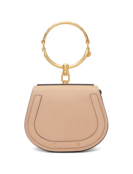 Beige Small Nile Bracelet Bag by ChloÉ