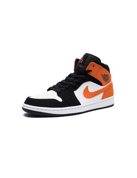 Aj 1 Mid   Black/Starfish/White by Undefeated