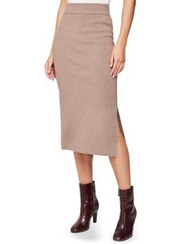Anna Knit Pencil Skirt by Reiss