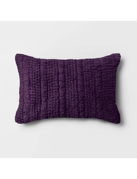 Quilted Velvet Throw Pillow   Opalhouse™ by Shop Collections