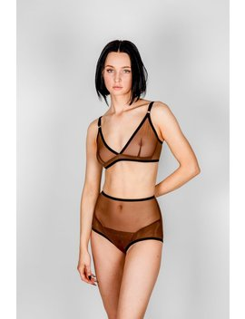 Bully Boy Vivienne Bra   Brown by Garmentory