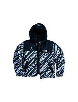 Mastermind The North Face Nuptse Jacket Black/White by Stock X