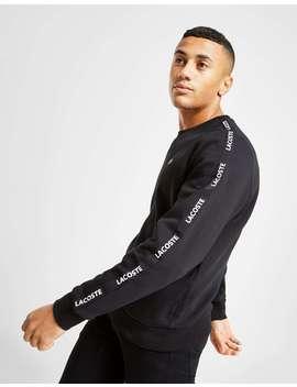 Lacoste Tonal Tape Crew Sweatshirt by Jd Sports