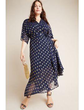 Loren Plus Wrap Maxi Dress by Hutch