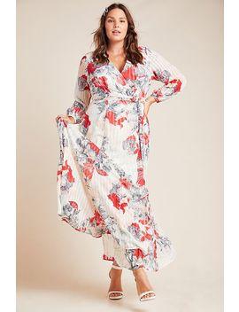 Joyce Maxi Plus Wrap Dress by Hutch