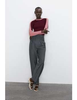 Pullover Color Block by Zara