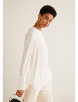 Lepršava Bluza S Gumbima by Mango