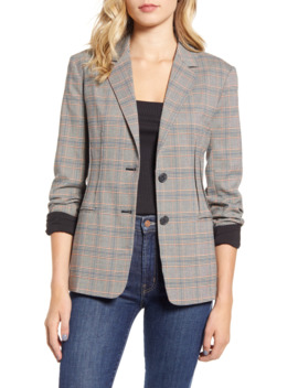 Darted Check Blazer by Chelsea28