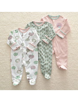 3 Pcs Newborn Baby Girl Romper Winter Baby Boy Jumpsuit Clothes 100% Cotton Underwear Rompers Clothing Baby Rompers Warm Costume by Ali Express.Com
