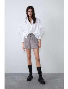 Shorts In Tweed by Zara