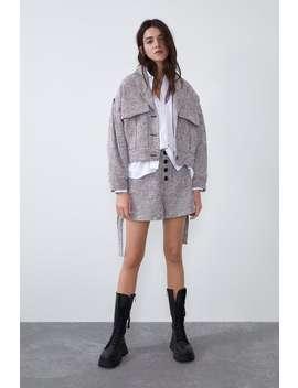 Giubbotto Tweed Tasche by Zara