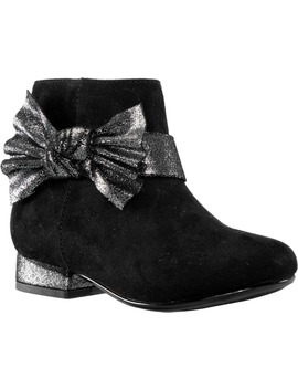 Orsula T Metallic Bow Bootie by Nina