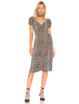 Silvia Dress In Leopard by Lpa