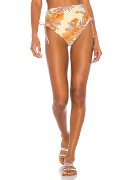 Dawn High Hip Bottom In Sunrise by Amuse Society