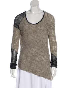 Wool Blend Lightweight Sweater by Helmut Lang