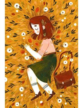 Summer Grass   A4 Art Print by Etsy