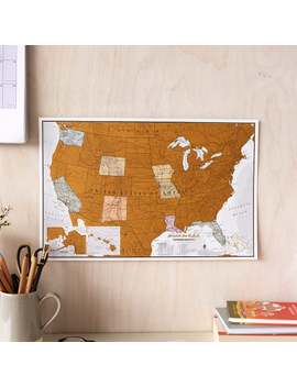Scratch Off Us Map   Gift Travel Map Usa, Gifts For Him, Gifts For Her, Sizes 17 X 11 And 34 X 22 by Etsy
