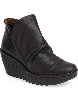 Yip Wedge Bootie by Fly London