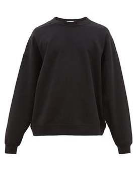Oversized Cotton Jersey Sweatshirt by Raey