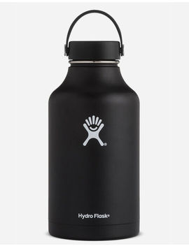 Hydro Flask Black 64oz Wide Mouth Bottle by Hydro Flask