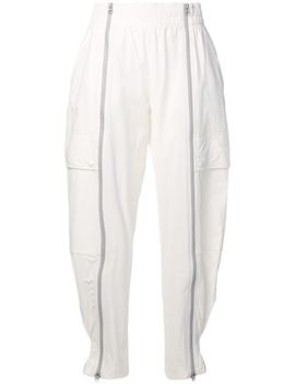 Zipped Taper Track Pants by Adidas By Stella Mc Cartney