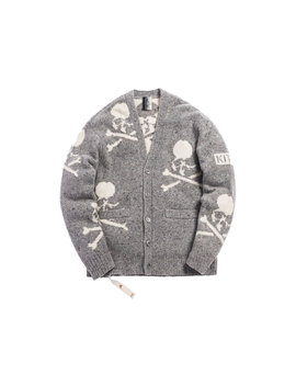 Kith X Mastermind World Knit Cardigan Turtle Dove by Stock X