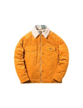 Kith Corduroy Laight Jacket Golden Yellow by Stock X