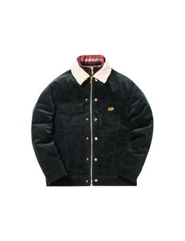 Kith Corduroy Laight Jacket Forest Green by Stock X