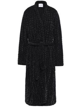 Luxor Sequined Crepe De Chine Coat by Antik Batik