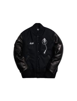 Kith X Golden Bear X Def Jam Varsity Jacket Black by Stock X