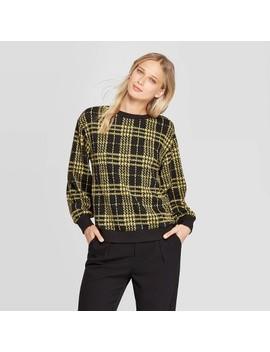 Women's Long Sleeve Crewneck Sweatshirt   Who What Wear™ by Who What Wear
