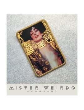 Gustav Klimt Art Sew On Patch, Gustav Klimt Judith Patch, Classic Art Patch, Sew On Jacket Patch Art Painting Patch, Art Nouveau Back Patch by Etsy