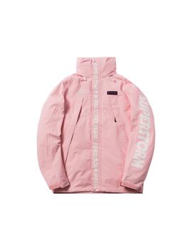 Kith X Columbia Oso Rain Jacket Cherry Blossom by Stock X